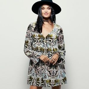 Free People Mystic Charm Velvet Dress